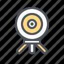 camera 360, camera icon, devices, electronic, webcam icon icon