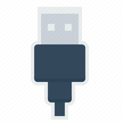 Cable, charging, connector, data, device, plug, usb icon - Download on Iconfinder