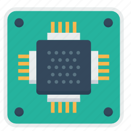 chip, circuit, ic, integratedcircuit, microchip, microprocessor, semiconductor icon