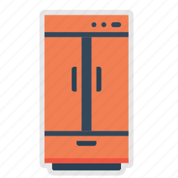 appliance, cold, electrical, freezer, fridge, kitchen, refrigerator icon