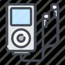 music, player, sound, media, headphone