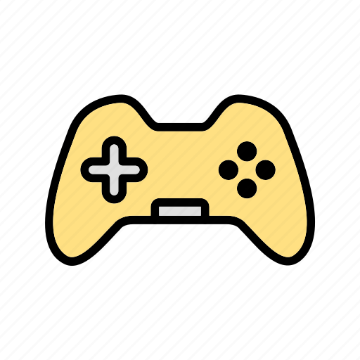 game controller, joypad, joystick icon