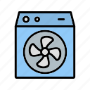 air cooler, cooler, room cooler icon
