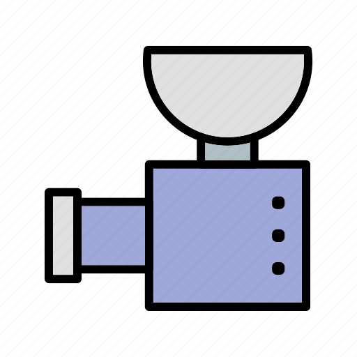 grinder, meat, meat grinder icon