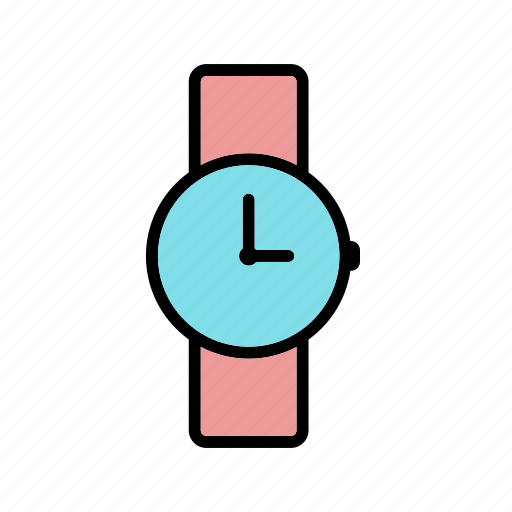 time, watch, wrist watch icon