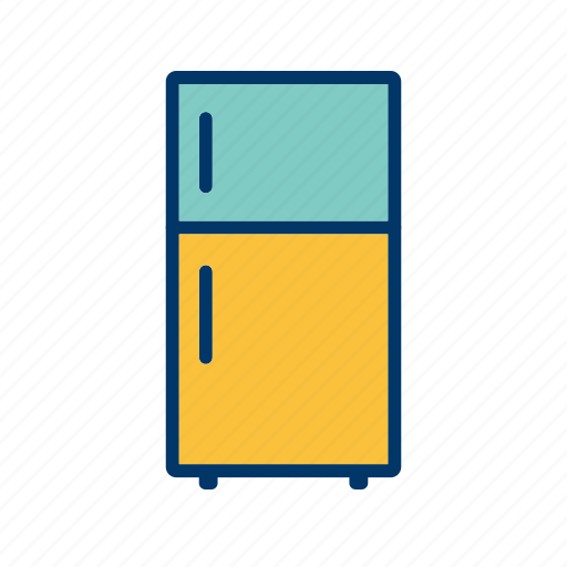 freezer, fridge, refrigerator icon