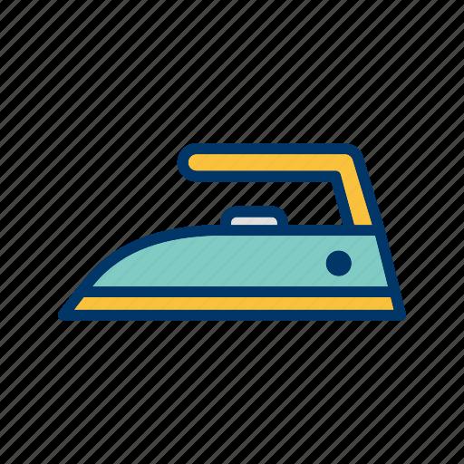 iron, ironing, steam icon