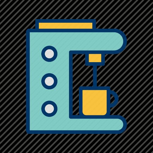 coffee maker, espresso, machine icon