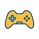 control pad, game pad, joystick icon