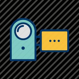 camcorder, camera, handy cam, handycam icon