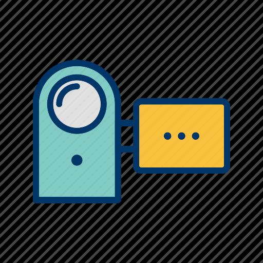 camcorder, camera, handycam icon