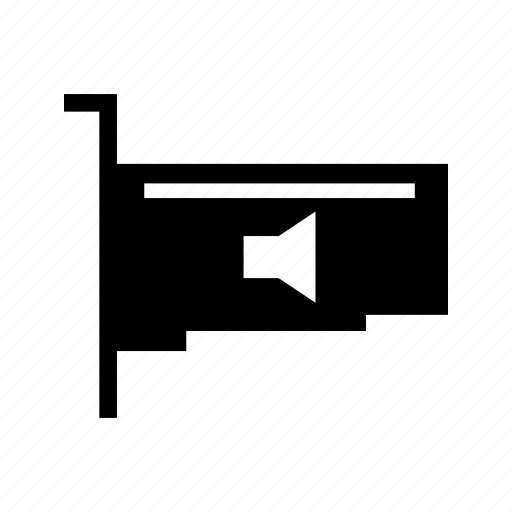 audio card, sound card icon