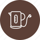 kattle, kettle, tea, teapot icon