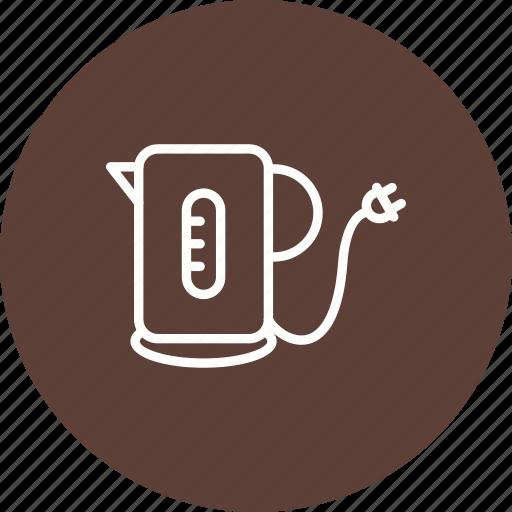 kettle, teapot icon