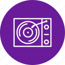 music player, old music player, vinyl player icon