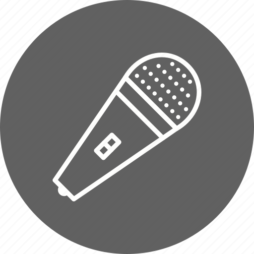 media mic, mic, microphone icon