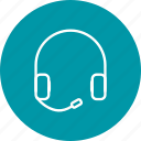 earsphone, handsfree, headphone icon