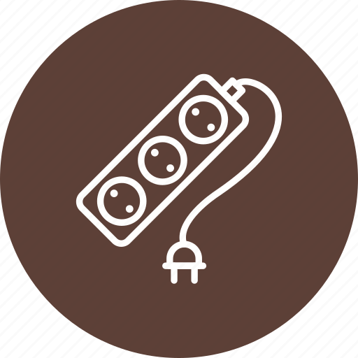 cable, extension, plug in icon