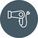 blower, hair dryer icon