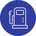 fuel, fuel station, petrol pump, station icon