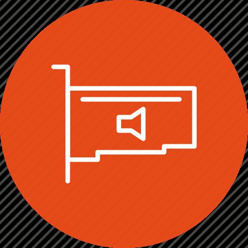 audio card, network, sound card icon