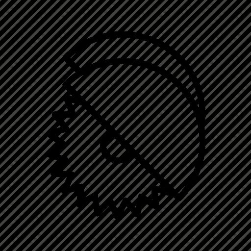 circular saw, cutter, saw icon