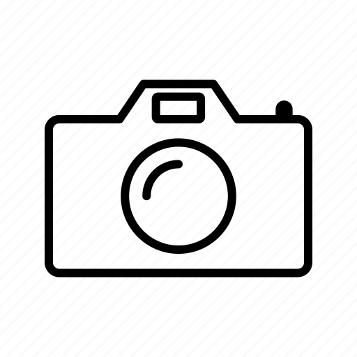 digital camera, multimedia, photography icon