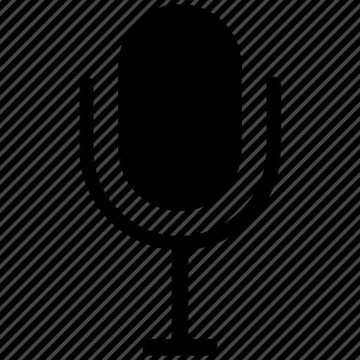 audio, microphone, speak icon icon