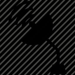 radio, seti, signal, telescope icon icon