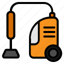 electronic, electronic equipment, technology, vacum cleaner icon
