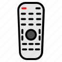 device, electronic, remote, technology icon