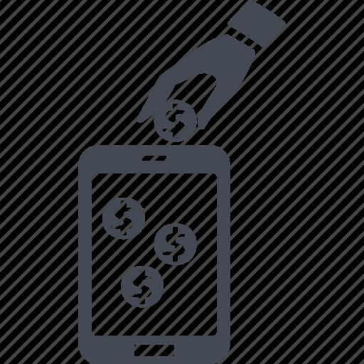 alternative, electronic funds transfers, electronic money, innovation icon