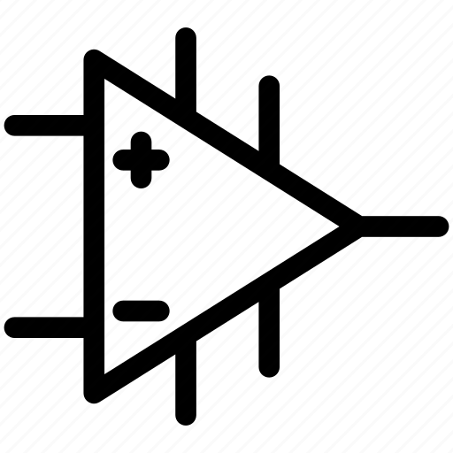amplifier, amplifier icon, amplifier symbol icon