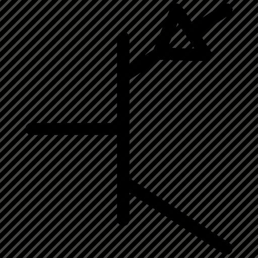 pnp, pnp transistor, transistor, transistor symbol icon