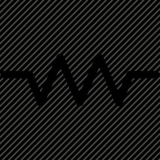 resistance, resistor, resistor icon icon