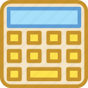 accounting, calculating machine, calculation, calculator, mathematics icon