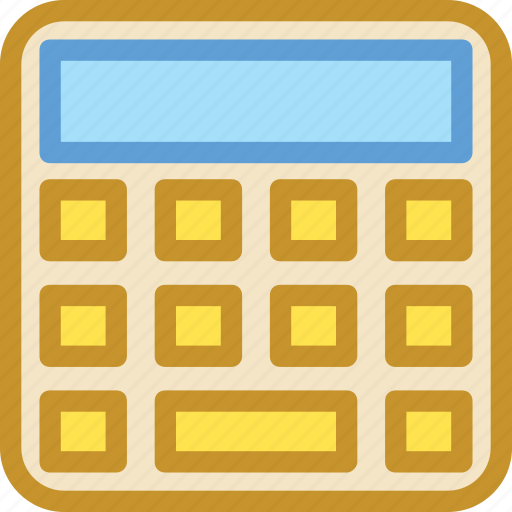 accounting, calculating machine, calculation, calculator, mathematics icon