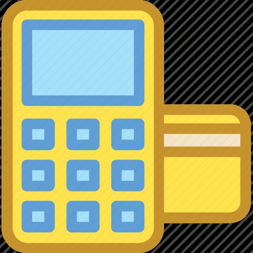 card terminal, cash till, edc machine, invoice machine, swap machine icon