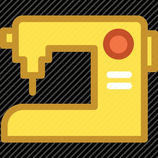 sewing, sewing machine, stitching machine, tailor machine, tailoring icon