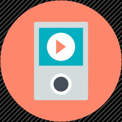 Music player, mp4 player, ipod, ios device, walkman icon