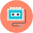 entertainment, mixtape, music cassette, walkman, walkman player icon