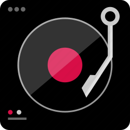 dj, electronic, gadget, mix, mixed, player, tech icon