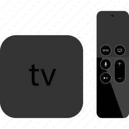 apple, controller, electronic, gadget, new, tech, tv icon