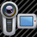 camcorder, camera, electronics, movie camera, video camera icon