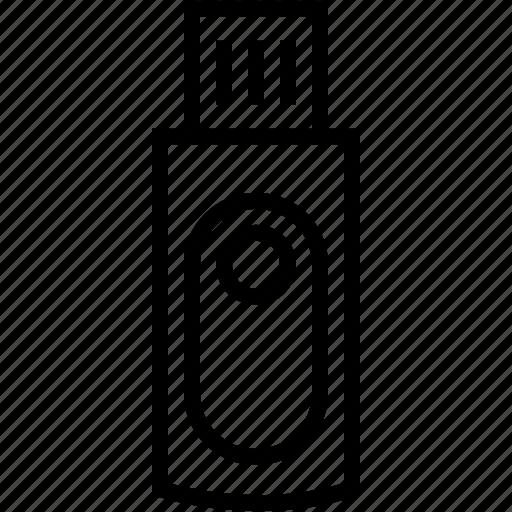 cloud, data, flash, storage, usb icon