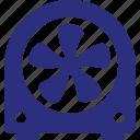 circulate air, electric fan, electronic appliance, fan, mechanical fan icon
