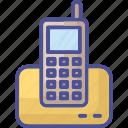 cordless phone, landline, office phone, telecommunication, telephone