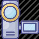 camcorder, digital camera, handycam, polaroid camera, video camera icon