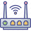 access router, modem, network router, wifi router, wireless broadband