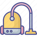 cleaning machine, deep cleaning, home appliance, home cleaning, vacuum cleaner icon